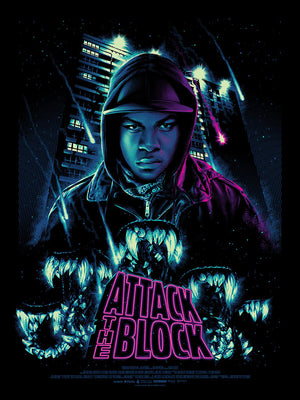 Attack the block Tracie Ching alternative movie poster
