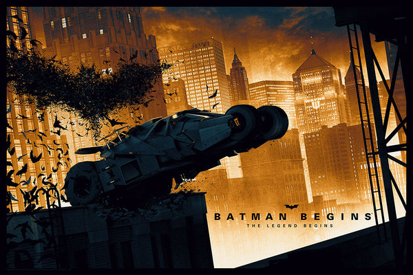 Batman Begins Matt Ferguson Alternative Movie Poster