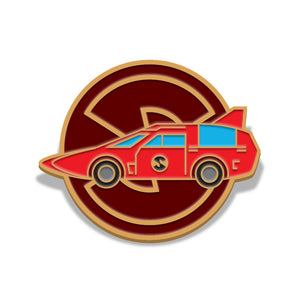 Captain Scarlet Spectrum saloon car Florey limited edition enamel pin badge
