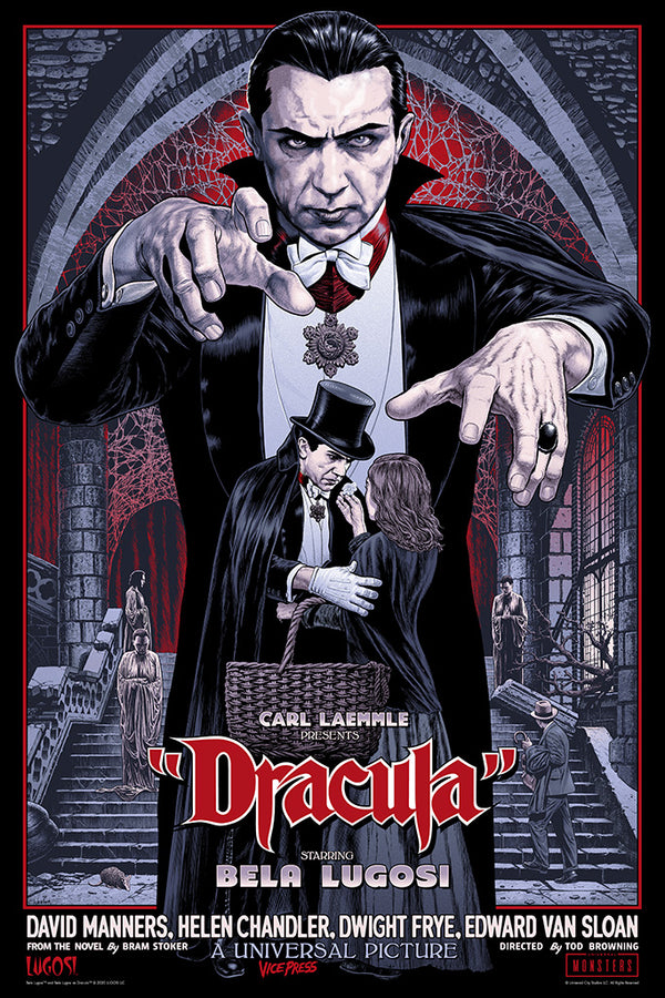 Dracula chris weston alternative movie poster