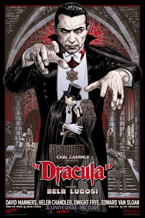 Dracula variant chris weston alternative movie poster