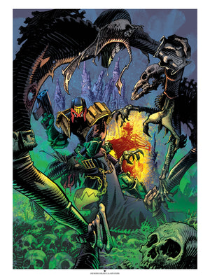 Judge Dredd Vs. The Dark Judges