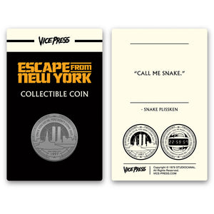 escape from new york collector coin florey vice press