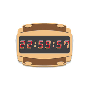 Escape From New York Countdown Watch Enamel Pin Badge Florey