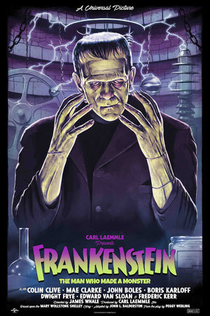 frankenstein tom walker alternative movie poster