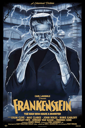 frankenstein variant tom walker alternative movie poster