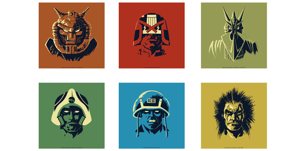 2000 AD Headshots Set