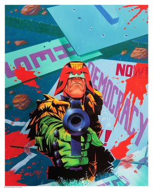 Judge Dredd - No Democracy