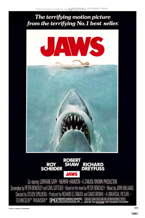 Jaws Roger Kastel 3D lenticular movie poster