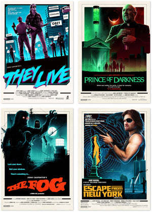 john carpenter movie poster series matt ferguson vice press