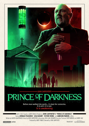 prince of darkness alternative movie poster matt ferguson vice press