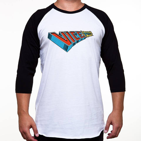 SALE Vice Press Raglan Baseball T-Shirt