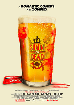 shaun of the dead Patrick connan alternative movie posters vice press
