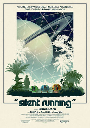 Silent Running Matt Ferguson Vice press Editions alternative movie poster