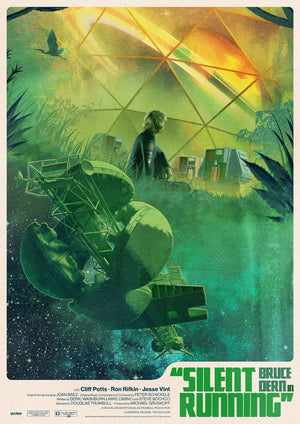 Silent Running Matt Griffin Alternative Movie Poster