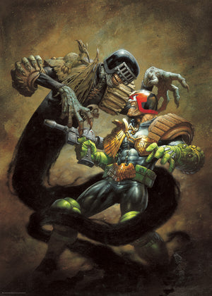 Judge Death VS. Judge Dredd
