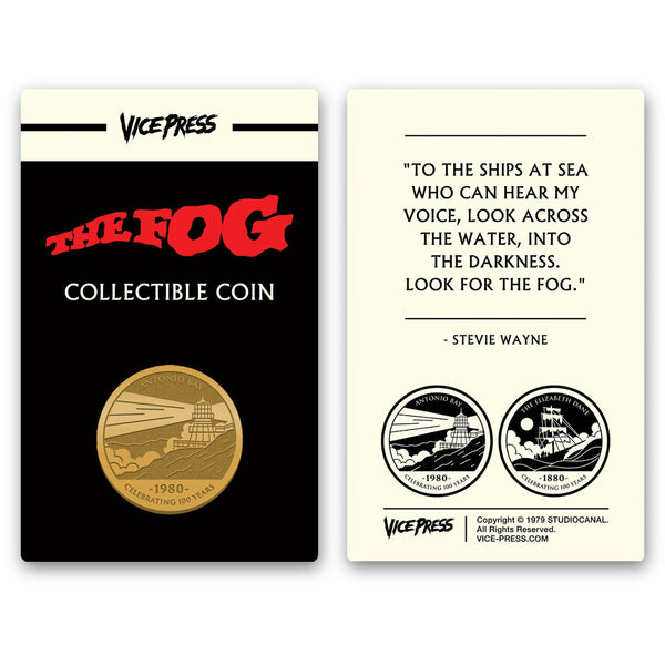 The Fog limited edition collector coin florey vice press