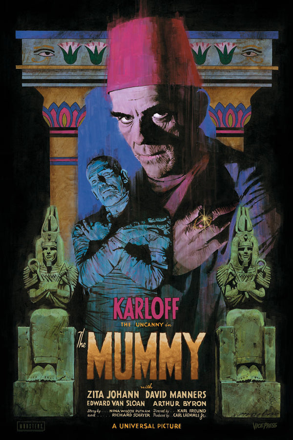 the mummy paul mann alternative movie poster