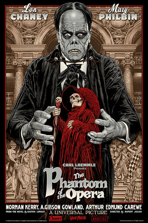 the phantom of the opera chris weston universal monsters alternative movie poster