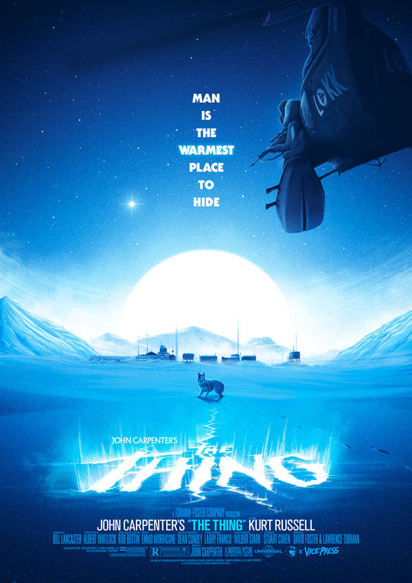 The Thing Patrick Connan Vice press Editions alternative movie poster