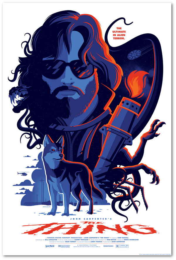 the thing tom whalen alternative movie poster