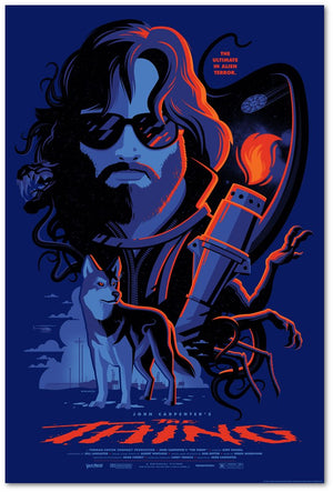 the thing variant Tom Whalen poster vice press
