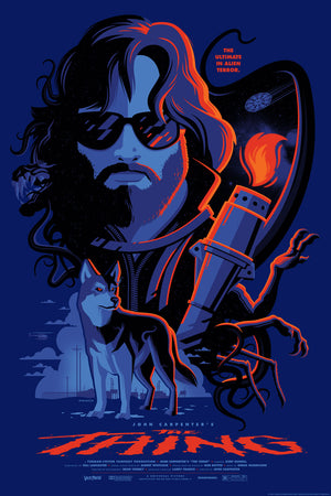 the thing variant Tom Whalen poster
