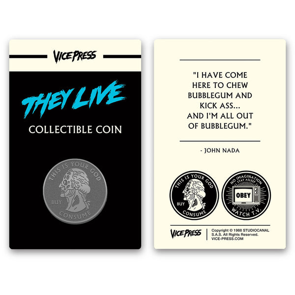 they live collector coin florey vice press