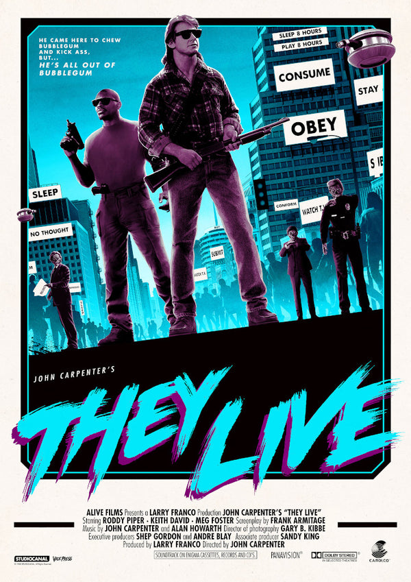 they live matt ferguson alternative movie poster
