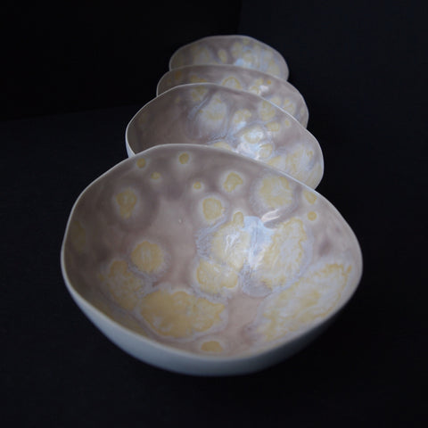 Tea light Shell - Pink Blush