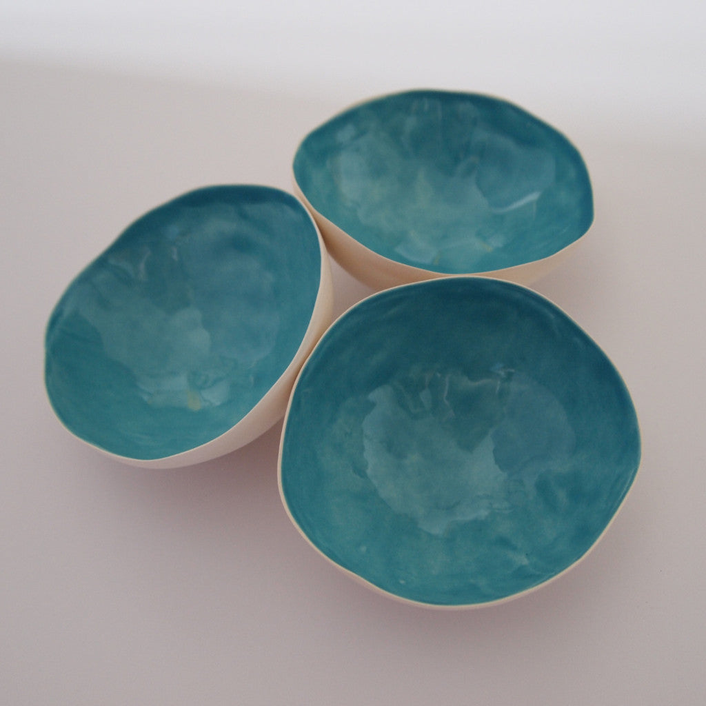 Tea light shell - Blue