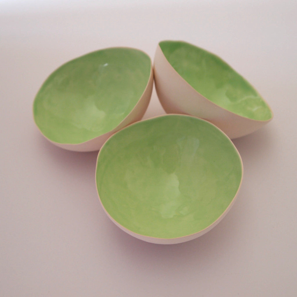 Tea light shell - Green