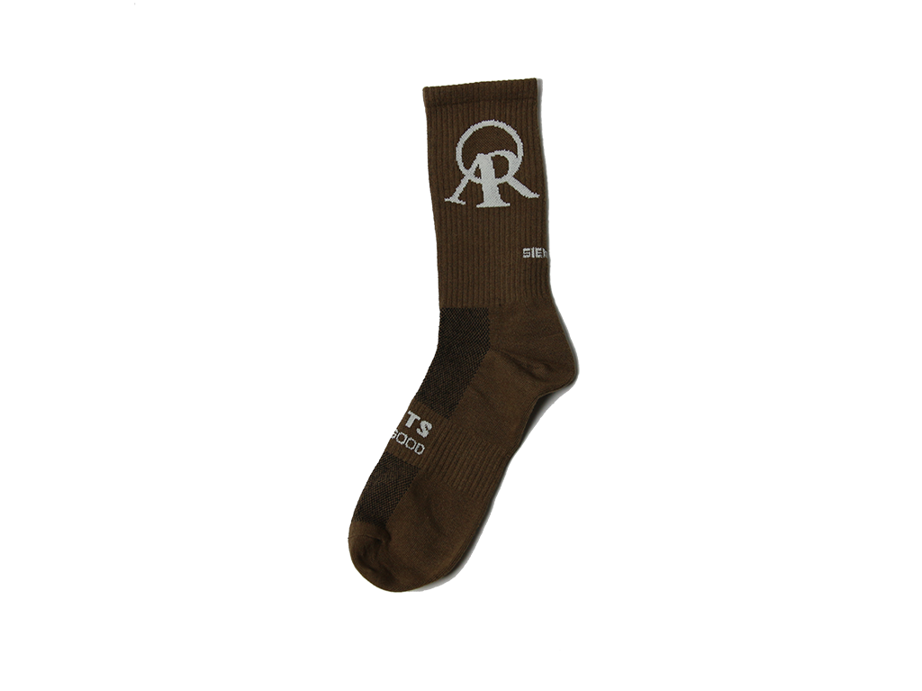 Life is Good Sock (Brown)