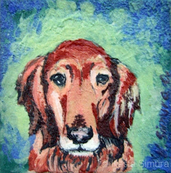 Portrait of a Dog: Commissioned Oil Painting by Kasia Simura