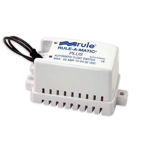 Rule Rule-A-Matic Plus Float Switch w/Fuse Holder