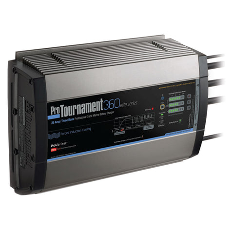 ProMariner ProTournament 360 elite Triple Charger - 36 Amp, 3 Bank