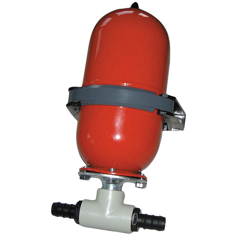 "Johnson Pump Accumulator Tank - "" Hose Barb"
