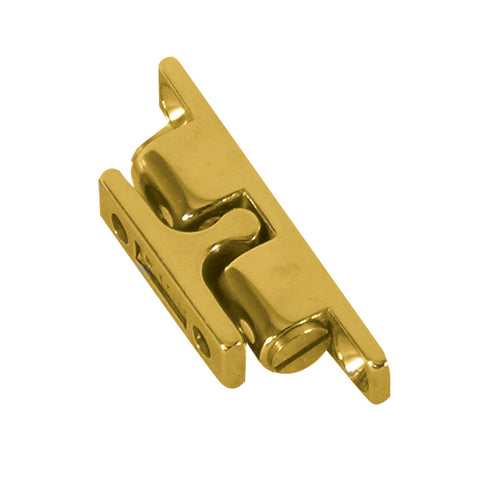 "Whitecap Stud Catch - Brass - 2-1/4"" x 7/16"""