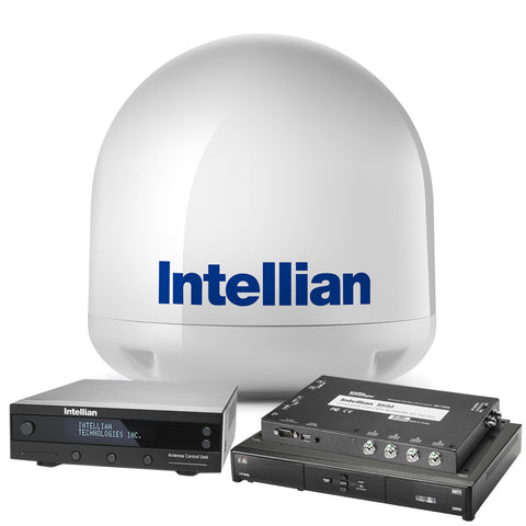 "INTELLIAN I3 ""DISH IN A BOX"" - COMPLETE DISH NETWORK HDTV SATELLITE SYSTEM"
