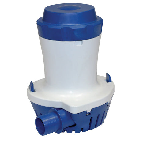 "Shurflo by Pentair 1500 Bilge Pump - 24VDC, 1500GPH - 1-1/8"" Port Submersible"