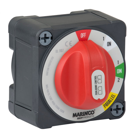 BEP Pro Installer 400a EZ-Mount Dual Bank Control Battery Switch - MC10