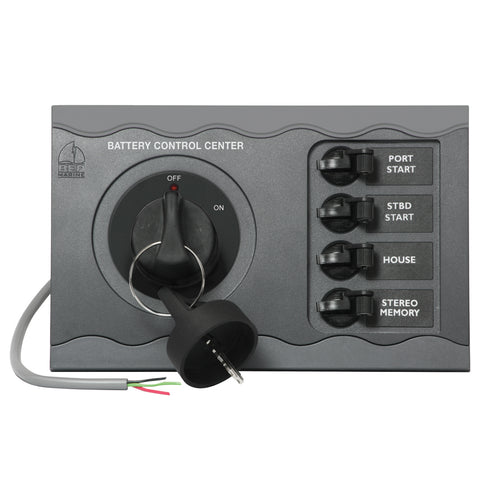 BEP Battery Control Center f/Twin Engine Remote