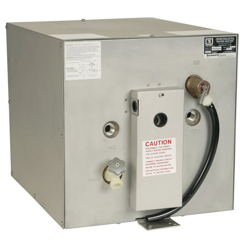 Whale Seaward 11 Gallon Hot Water Heater w/Rear Heat Exchanger - Galvanized Steel - 120V - 1500W