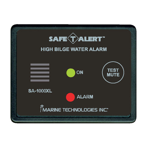 Safe-T-Alert High Bilge Water Alarm - Surface Mount - Black