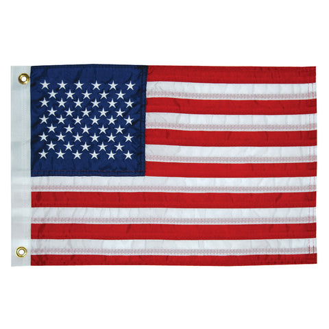 "Taylor Made 12"" x 18"" Deluxe Sewn 50 Star Flag"