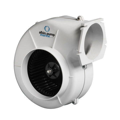 Albin Pump Marine Air Blower 750 Flange - 12V