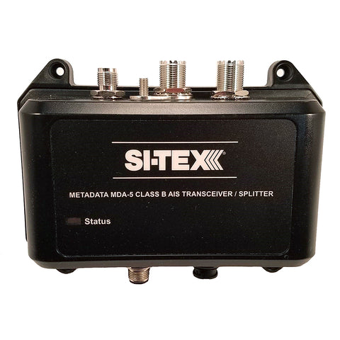 SI-TEX MDA-5 Hi-Power 5W SOTDMA Class B AIS Transceiver w/Built-In Antenna Splitter  Long Range Wi-Fi