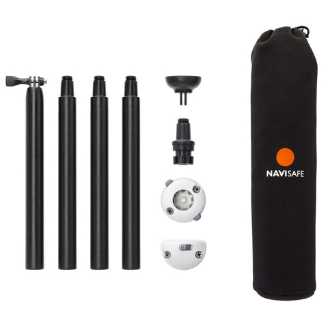 Navisafe Navimount Pole Pack Includes Pole & Mounts (Lights Not Included)