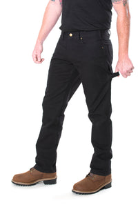Men's Carpenter Style Canvas Work Pants
