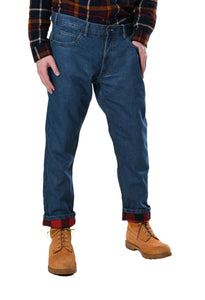 Men's Flannel Lined Jeans